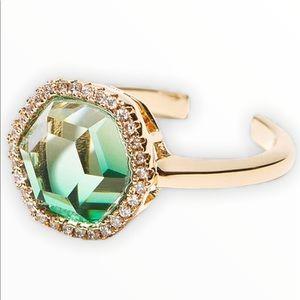 Joy Dravecky Chloe Ring Adjustable Ombre Green